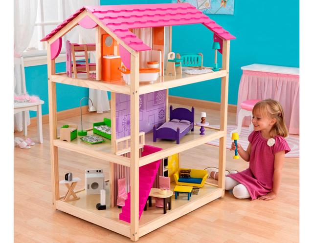изготовление кукольного домика