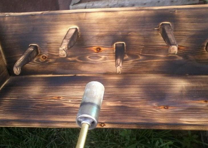обжиг древесины своими руками