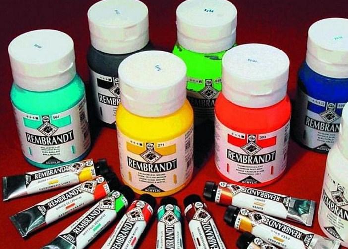 краски для росписи по дереву