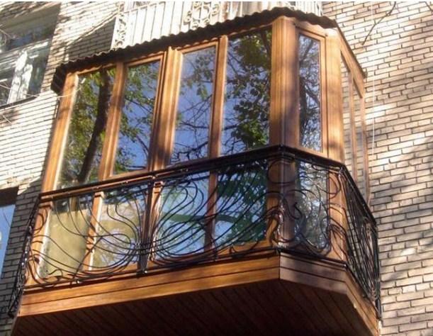 варианты остекленения балкона