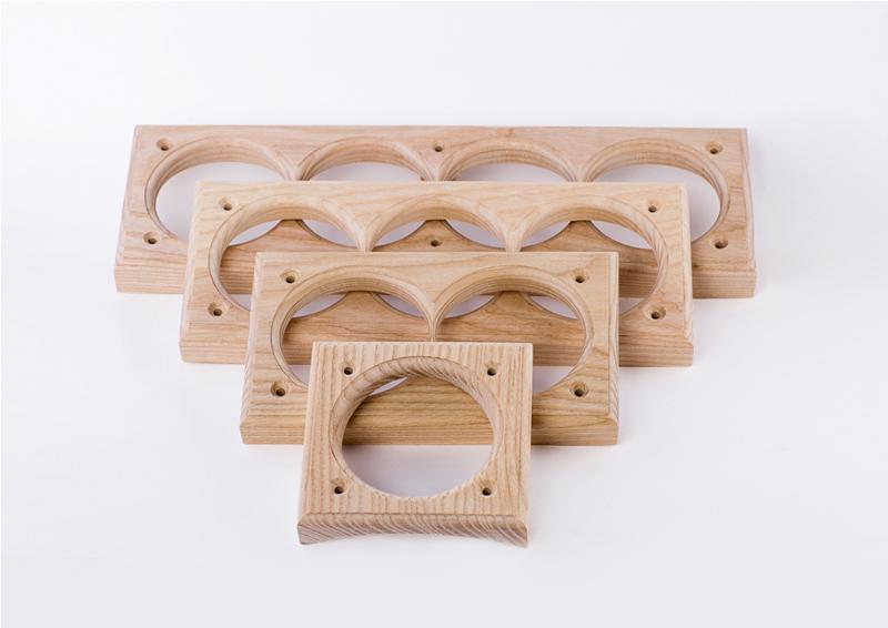 деревянные подразетники