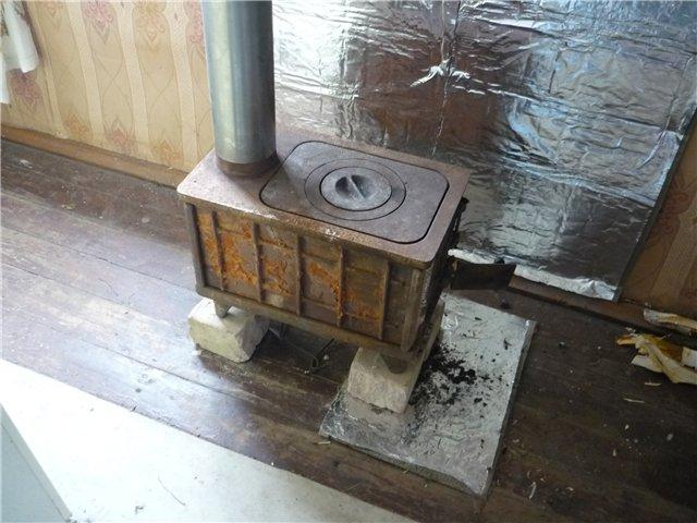 Устройство печи в деревянном доме схема