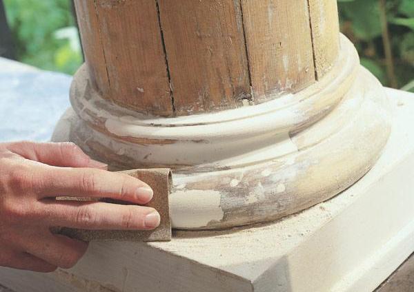 замазка дерева под окрашивание